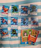 Chapas Inazuma y Cartas Marvel - foto