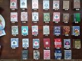 Barajas de cartas de poker y diseño - foto