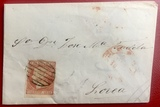 Carta de 1852, Isabel II, Lorca Murcia - foto