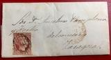 Carta de 1853, Isabel II, Zaragoza - foto