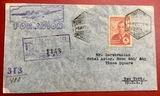 carta correo aéreo Madrid- Nueva York - foto