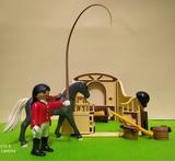 cuadra playmobil - foto
