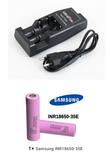 Cargador baterías linternas led - foto