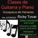CLASES ONLINE DE GUITARRA Y PIANO - foto