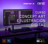 CURSO CONCEPT ART E ILUSTRACIÓN DIGITAL - foto