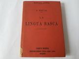 ANTIGUO MANUAL DE LENGUA VASCA,  AÑO 1926 - foto