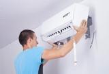 Montaje instalación de Aire frío calor - foto