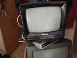 TelevisiÓn mini muy antigua - foto