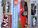 REVISTAS MG ENTHUSIAST & MG SAFETY FAST - foto