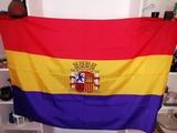 Bandera de la República Española. - foto
