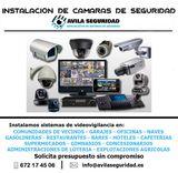 instalación de cámaras de vigilancia - foto