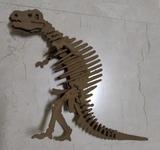 Dinosaurio esqueleto - foto