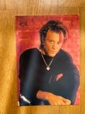Postal de Jon Bon Jovi, de 1993 - foto