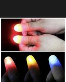 Dos dedos truco de Magia luz 2 unidades - foto