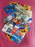 34 tarjetas telefónicas - foto