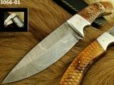 Cuchillo acero Damasco - foto
