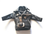 Llavero chaqueta de cuero - foto