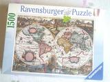 Puzzle 1500 fichas , usado , completo - foto