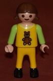 0407 muÑeco niÑa de playmobil usado tal - foto