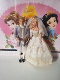 Barbie y Ken Boda Real colección - foto
