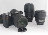 Equipo completo, Nikon digital,D70 - foto