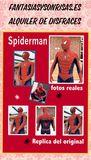 spiderman disfraz adulto en alquiler - foto
