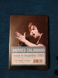 AndrÉs calamaro made in argentina dvd+cd - foto