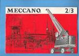 Folleto de instrucciones de meccano 2/3 - foto