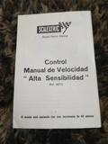manual Scalextric control de velocidad - foto