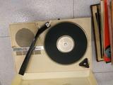 tocadiscos portatil phono book años 60 - foto