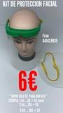 Kit de proteccion facial covid 19 - foto