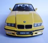 Bmw m3 e36 coupe amarillo dakar 1:18 - foto