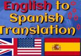 English and spanish translations - foto