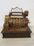 Caja registradora replica de hojalata - foto