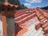 paletas tejados fachadas - foto