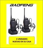 Emisoras 2 walkie talkie baofeng nuevas - foto