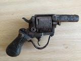 pistola antigua british buldog - foto