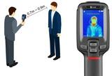 Cámara térmica para detección de fiebre - foto