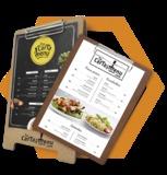Cartas de menús. Usar y Tirar - foto
