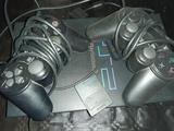 playstation 2,3juegos,2 mandos. - foto