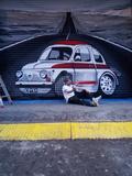 persianista pintor estilo graffiti - foto