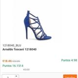 1218040 Señora arnaldo toscani sandalias en negro modelo