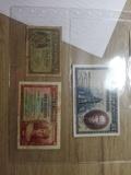 Vendo 3 Billetes Antiguos - foto