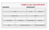 CamiÓn + tarjeta de transporte mdp - foto