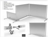 Mampara modular protección covid19 - foto