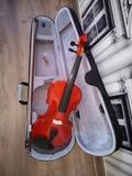 violín Gaudieri con estuche arco y resin - foto