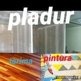 pladur - pintura - tarima - foto