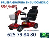 SCOOTER ELECTRICA MINUSVALIDOS SIRIUS 40 - foto