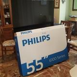 Smart TV Philips 55pus6162 4K HDR Plus - foto