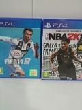 Juegos PS4 FIFA y NBA - foto
